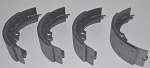Front Brake Shoes With Pads (for the Silver Cloud II, III & S2, S3)
