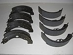 Front and Rear Brake Shoes With Pads (UG 2804-A & UG 3478-A) for the Silver Cloud II, III & S2, S3